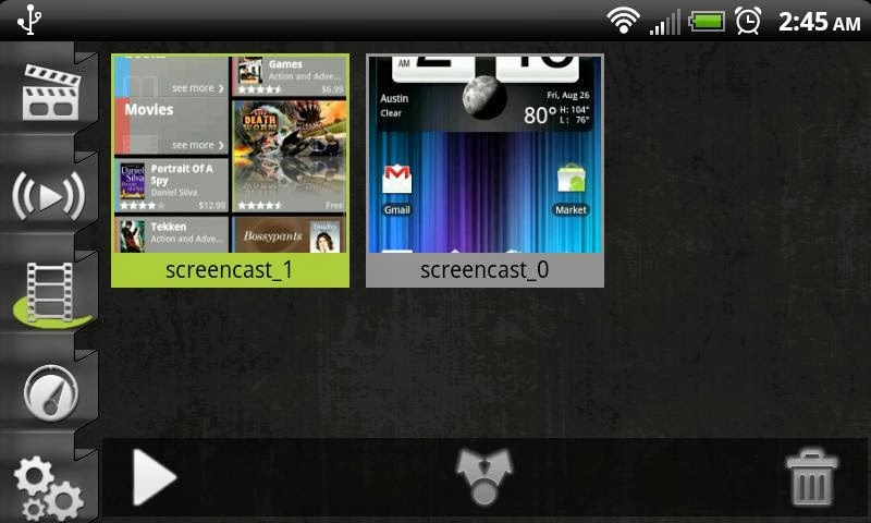 Screencast Video Recorder Demo