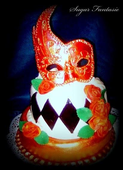 maszk torta