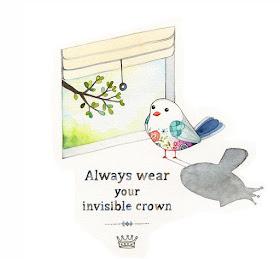 Vienmēr nēsā savu neredzamo kroni.