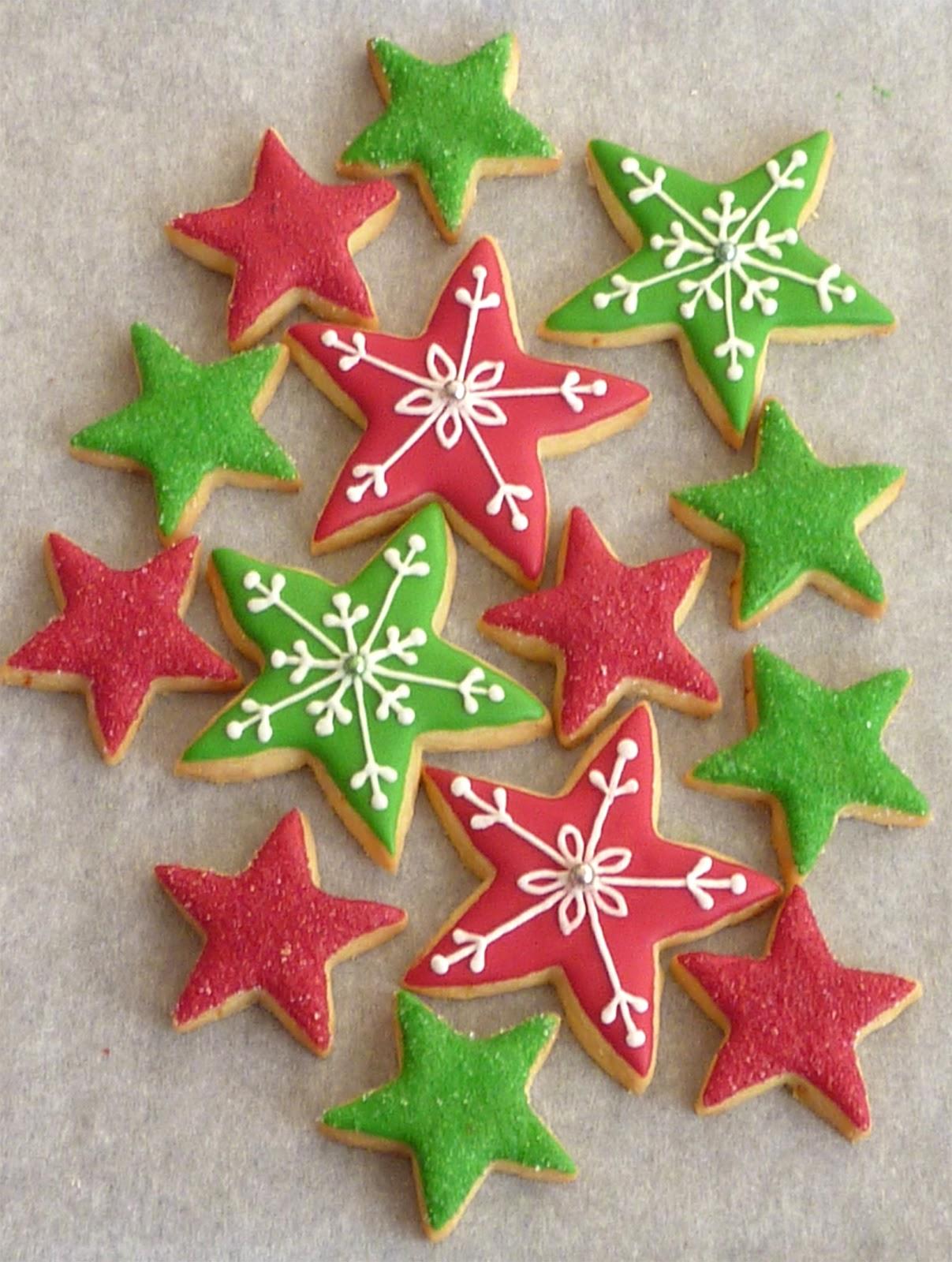 Red Moonrise: Christmas 2012 Cookies
