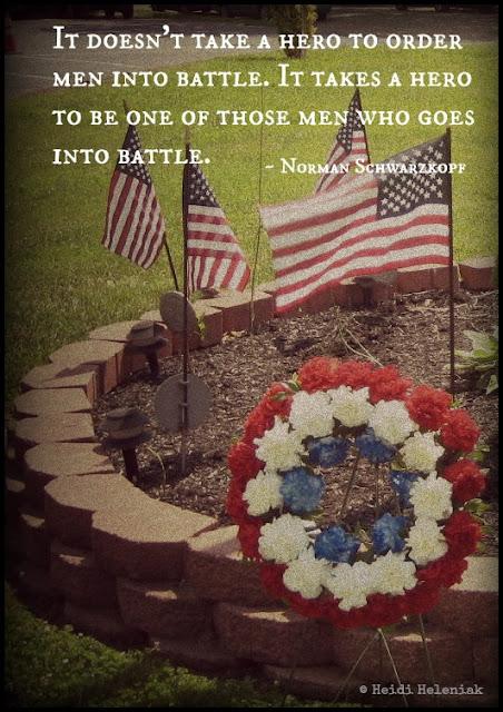 memorial day honoring post