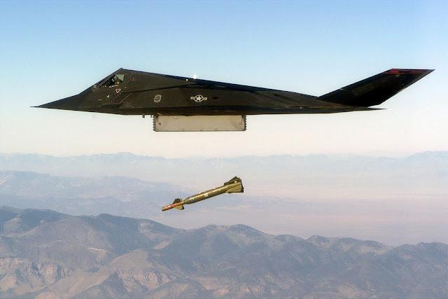 F-117 Nighthawk bomb