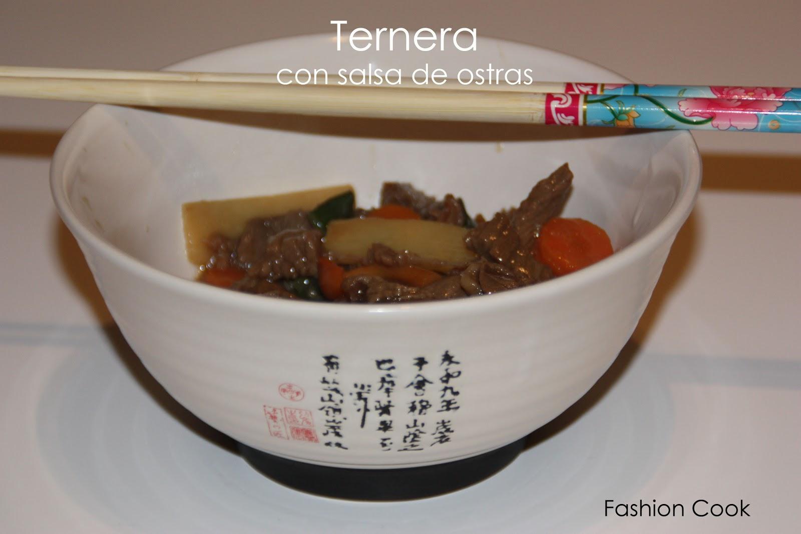Fashion cook ternera con salsa de ostras for Cocinar ostras