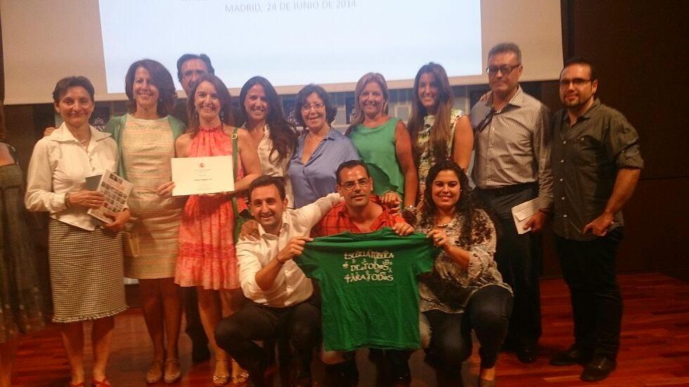 El Ministerio premia al centro de adultos del Polígono Sur