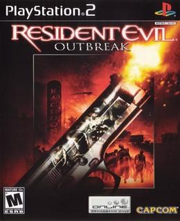 Resident Evil: Outbreak PS2 Box