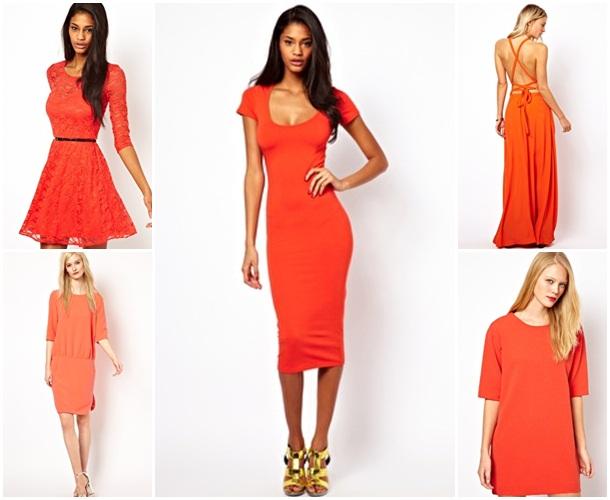 elbise turuncu