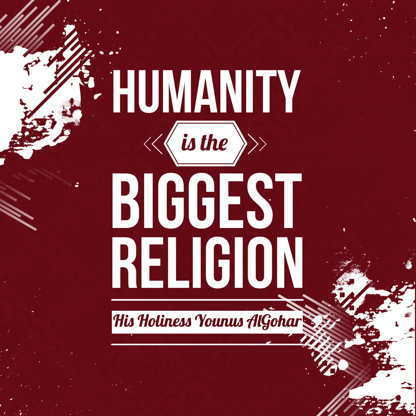 The Official MFI Blog Quote Of The Day Humanity Is - The biggest religion