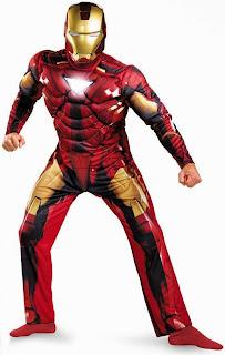 Iron Man 2 Movie - Iron Man Mark 6 Classic Muscle Adult Costume
