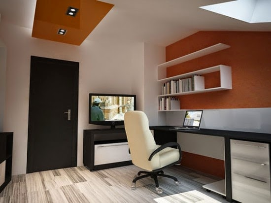 Luxury Small Office Design Idea