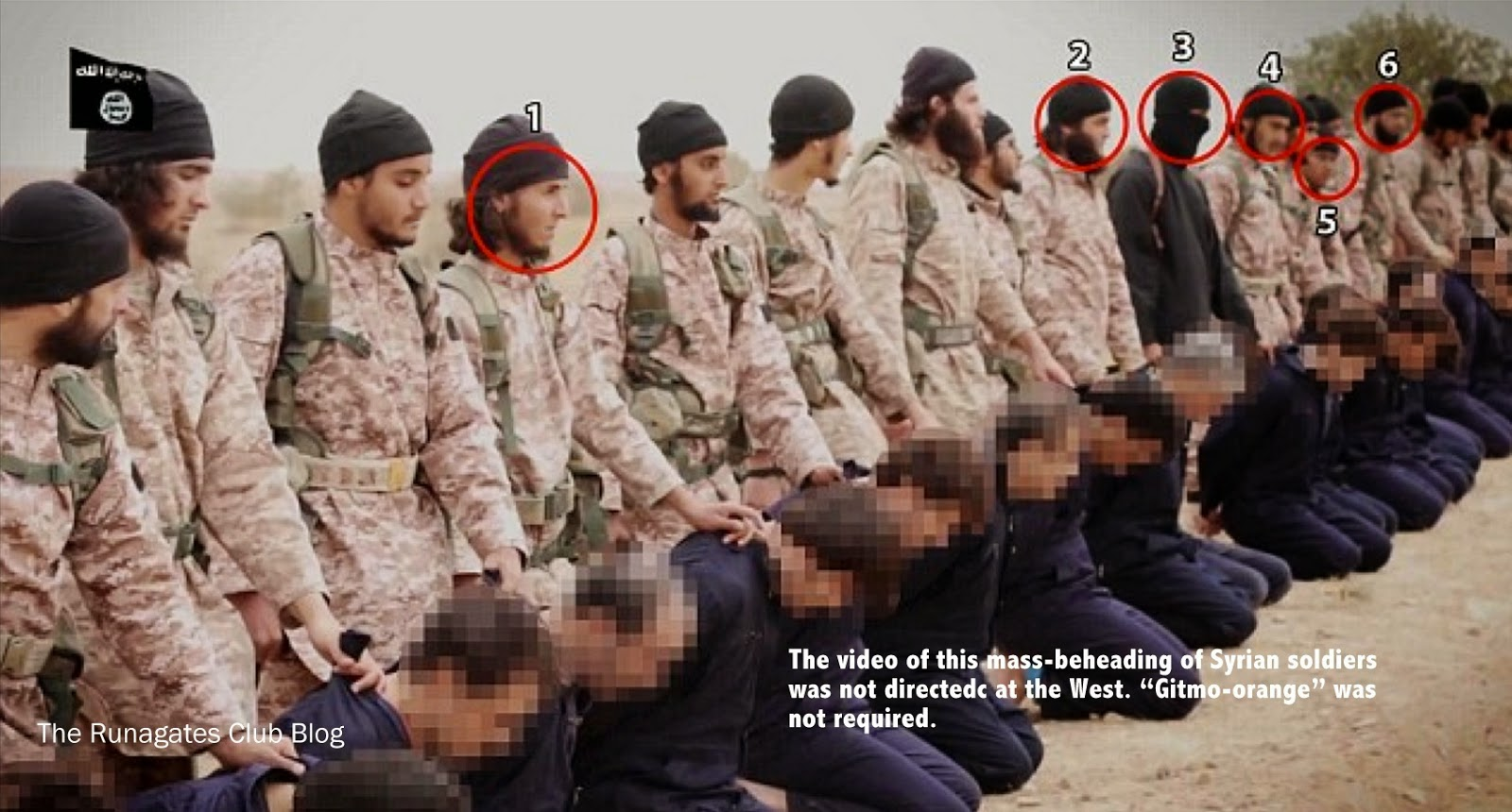 Mass beheadings of Syrian Soldiers by ISIS