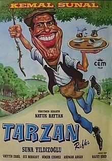 kemal sunal filmleri Tarzan Rifki