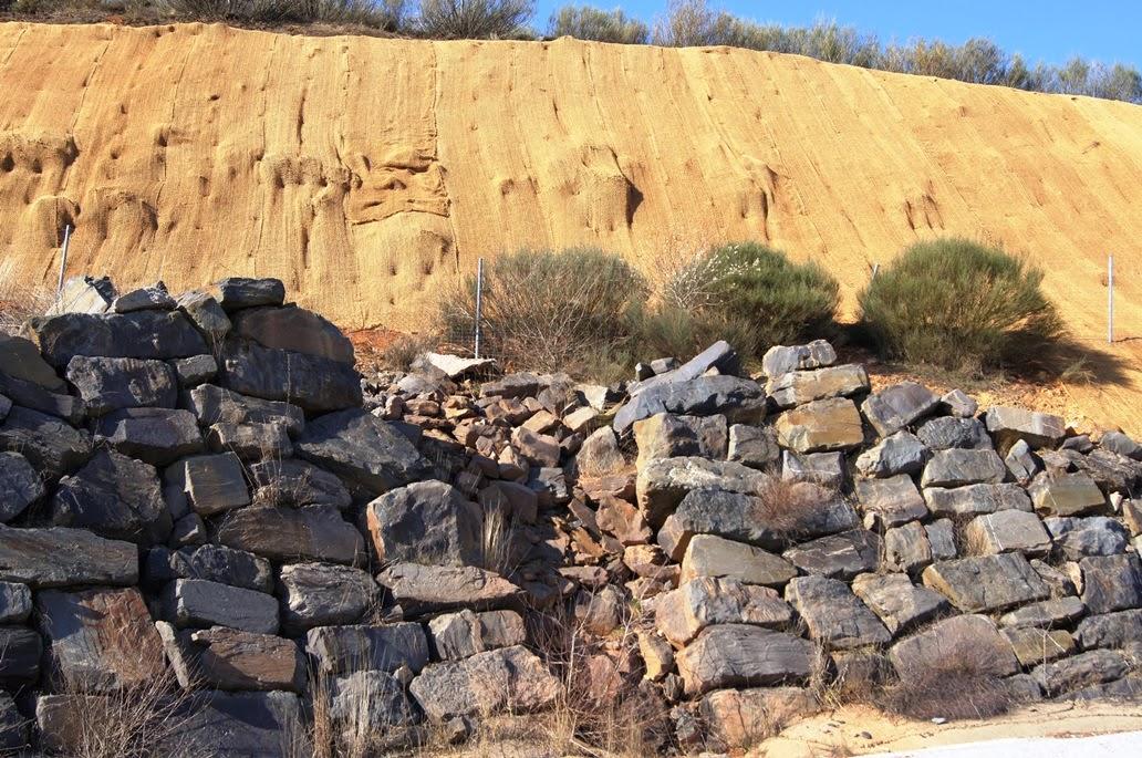 Ventajas e inconvenientes de las biomallas o biomanta en la restauración de espacios degradados