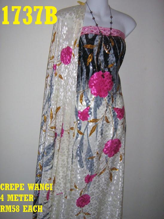 CW 1737B: CREPE WANGI, 4 METER