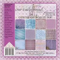 ODBD Christian Faith Designer Paper Collection