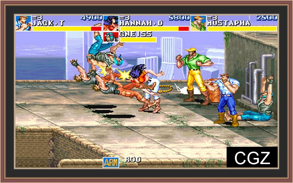 Cadillacs and Dinosaurs PC Full Version Game Free Download - PC Full