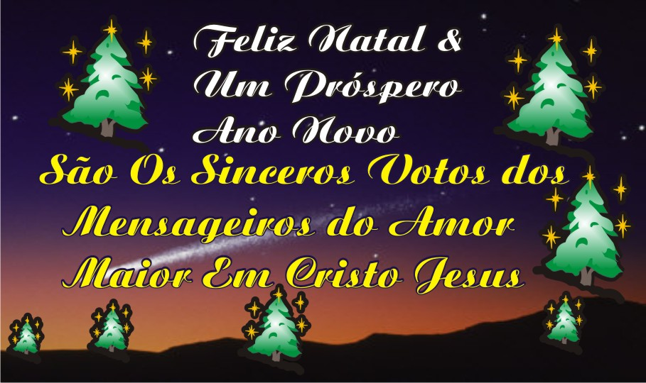 Feliz Natal e Próspero Ano Novo