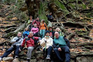 Club de muntanya el xocainet 13 11 2012 la fageda de retaule tarragona - El tiempo en la senia tarragona ...