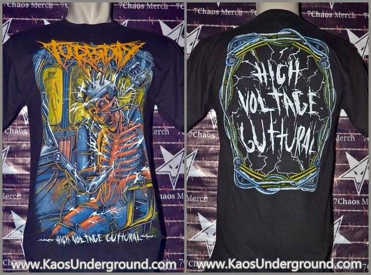 turbidity heretic kaos underground metal 7chaos merch