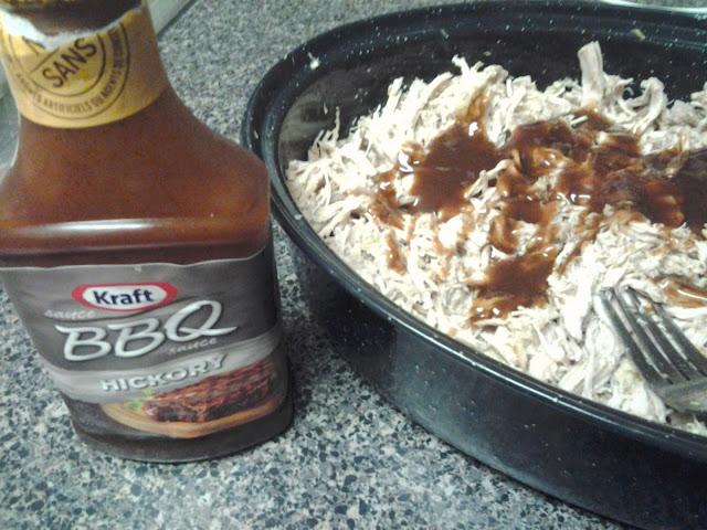 bbq sauce pork loin