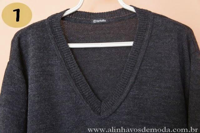 O suéter sem graça.
