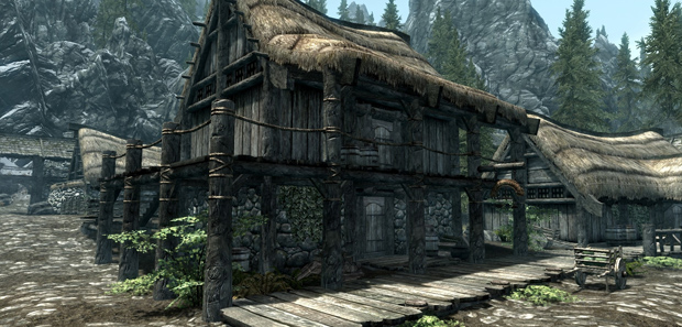 Skyrim Riverwood Trader