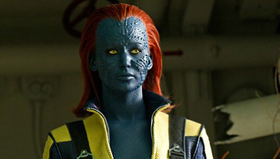 Mystique - can change her appearance to look like anything  She uses    X Men First Class Mystique Full Body