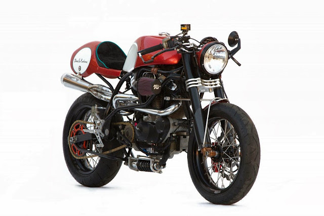 Buell Lightning X1 Cafe Racer | Deus Ex Machina | Buell Cafe Racer | Buell cafe racer conversion kit | Buell cafe racer for sale | Bully by Deus Customs