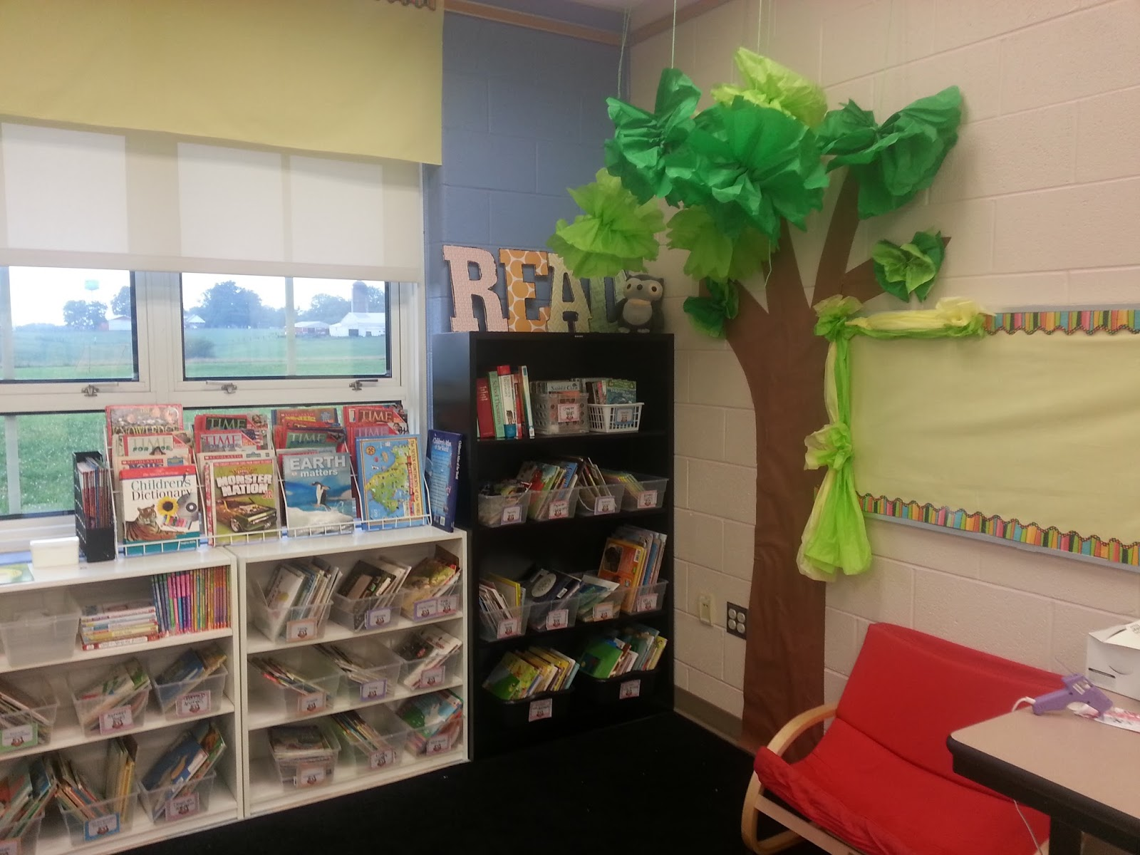 Second Grade Nest Making My Reading Corner Tree W A Tutorial On