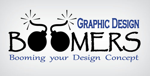 Logo Boomers Graphic Design