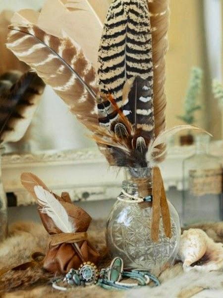 Jak zrobić ptasie pióra DIY