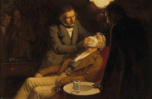 PRIMERA ANESTESIA. MORTON.16 DE OCTUBRE DE 1846