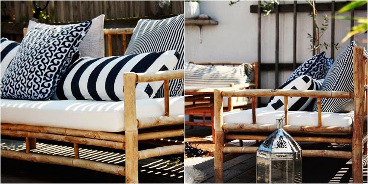 Merveilleux Outdoor Bamboo Furniture.