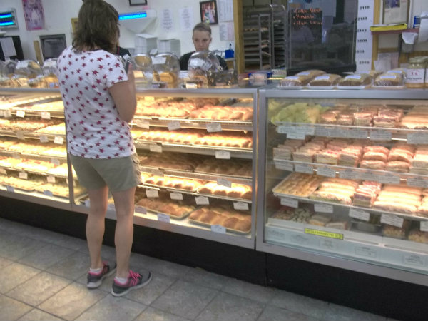 kolache selection