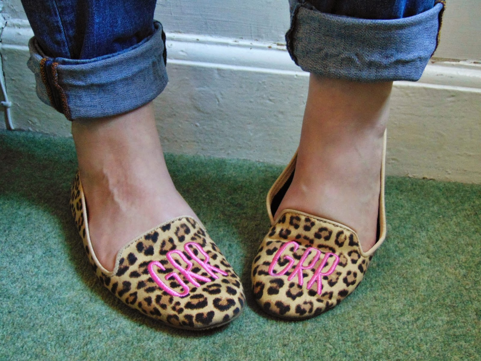 Put a spring in your step! Leopard print H&M