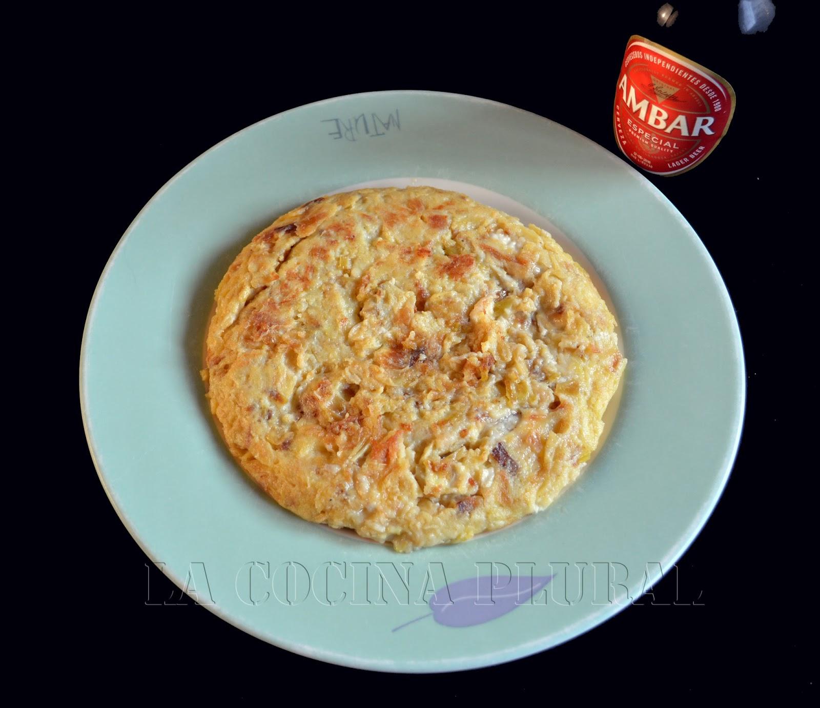 La cocina plural tortilla de puerros y queso de cabra - Queso de cabra y colesterol ...