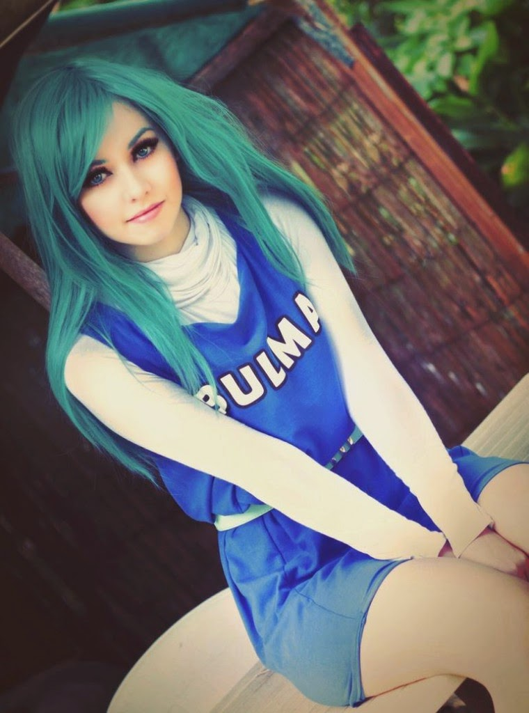 cosplay Dragon ball z bulma