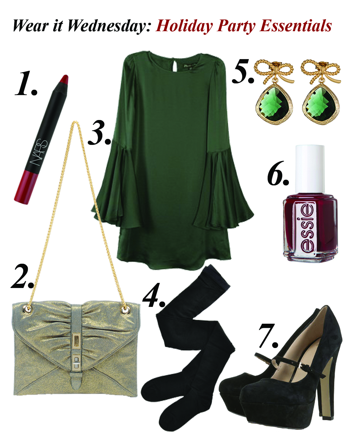 Be and D: Wear it Wednesday: Holiday Party Essentials