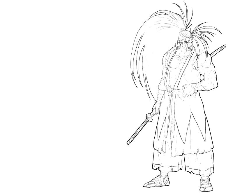 printable-haohmaru-character-coloring-pages