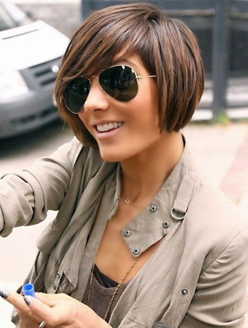 The Enchanting Short Celebrity Hairstyles 2015 Image