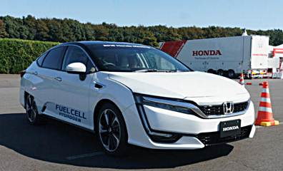 2016 Honda Clarity Fuel Cell Release