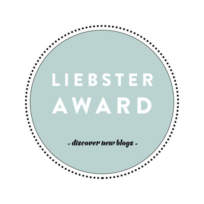 Liebster Nomination