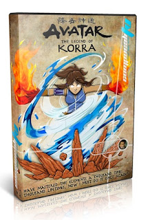 Portada The Last Airbender The Legend of Korra Español Latino