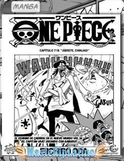 One Piece Manga 720 Subtitulado Español