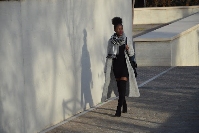 Blog mode afro, blog mode marseille, look, cuissardes, coiffure afro, gilet long