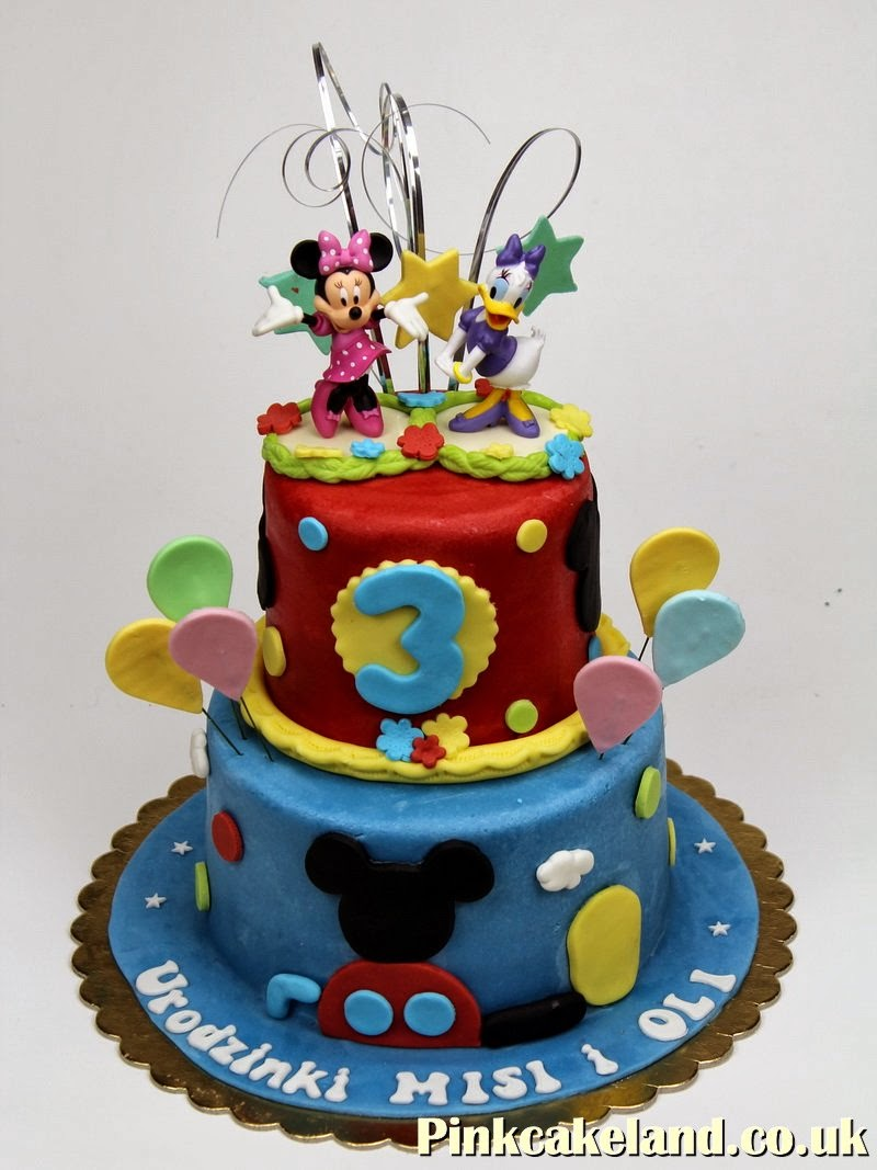 Mickey Mouse Clubhouse Birthday Cake London