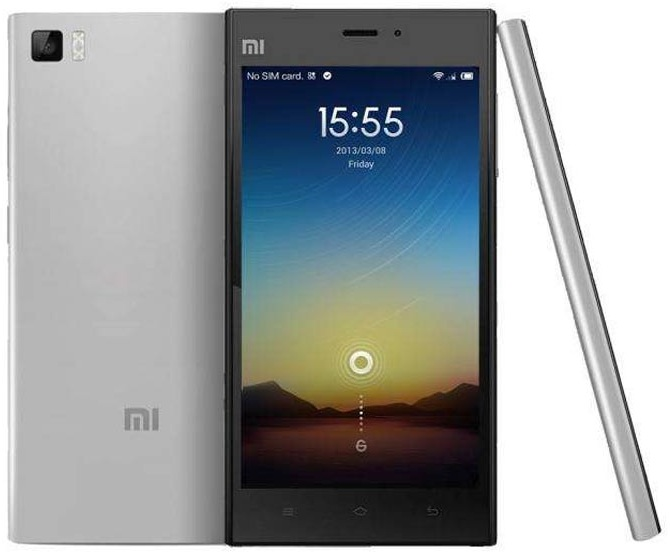 Xiaomi MI3 16GB Metallic Gray - exnim
