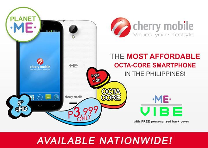 Cherry Mobile ME Vibe Now Available Nationwide