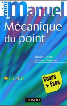 livre manuel mécanique du point
