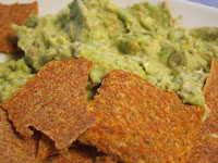 guac & sun dried tomato chips