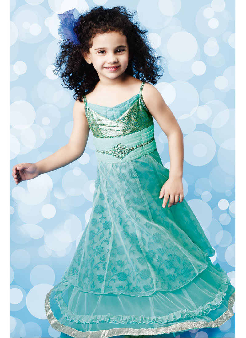 The Latest Fashions: Partywear Dresses For Baby Girls